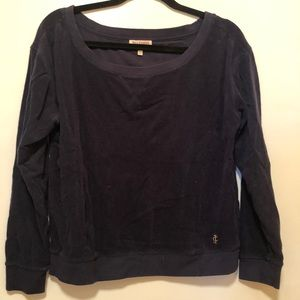 Juicy Couture Navy Tracksuit Top
